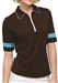 GG Blue Iris Mud/Basin Half Sleeve Golf Polo