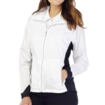 GG Blue Paris Water Resistant Jacket - White/Black