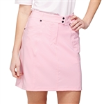 GG Blue Wedge Dahlia Pink Golf Skort