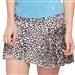 "GG Blue 18"" Cheetah Caddy Skort"