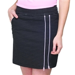 "GG Blue Striking 18.5"" Golf Skort - Glam Dot"