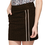 "GG Blue Striking 18.5"" Golf Skort - Leopard"