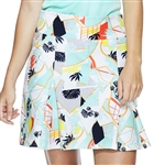 GG Blue Carter Golf Skort - Peace