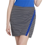 GG Blue Wrap Golf Skort - Beauty