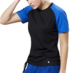 GG Blue Force Active Tee - Black/Royal