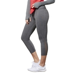 GG Blue Power Fitness Capri - Smoke