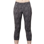 GG Blue Power Fitness Capri - Smoke Bliss
