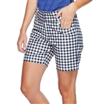 "GG Blue Bunker 17"" Golf Short - Gingham"