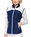 GG Blue Jada Navy/White Quilted Golf Vest