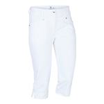 Daily Sports Lyric City Capri - White