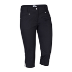 Daily Sports Lyric City Capri - Black