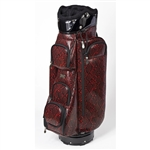 Cutler Crawford Red Snake Golf Bag