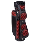 Cutler Hepburn Red Golf Bag