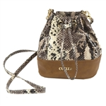 Cutler Bucket Bag Satchel - Prosecco