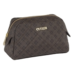Cutler Bordeaux Large Cosmetic Case