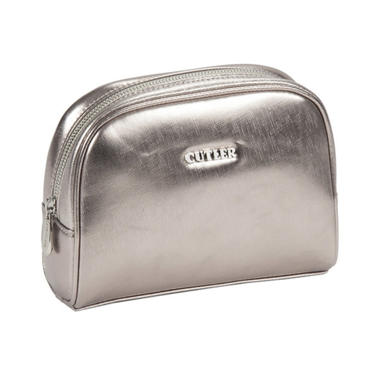 Cutler Large Cosmetic Case - Champagne