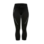 Daily Sports Crop Fitness Capri - Black