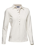 Daily Sports Wilda Long Sleeve Golf Polo - Ivory