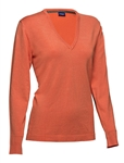Daily Sports Zoie V-Neck Sweater - Clementine