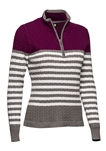 Daily Sports Jody Cable Knit Pullover - Ruby