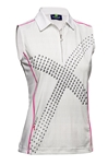 Daily Sports Octavia Sleeveless Golf Polo - White