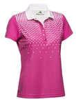 Daily Sports Magda Short Sleeve Golf Polo - Rouge