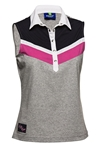 Daily Sports Tilly Sleeveless Golf Polo - Pebble