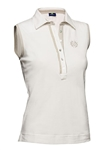 Daily Sports Ivory Shea Sleeveless Polo