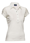 Daily Sports Cassidy Short Sleeve Polo - Ivory