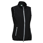Daily Sports Fade Wind Golf Vest - Black