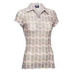 Daily Sports Holiday Prudy Cap Sleeve Polo - Chintz
