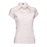 Daily Sports Holiday Cassidy Short Sleeve Chintz Pink Polo