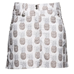 Daily Sports Holiday Patzy Wind Skort - Pineapple
