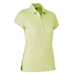 Daily Sports Macy Cap Sleeve Golf Polo - Sunny Lime