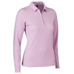 Daily Sports Macy Long Sleeve Polo - Rose