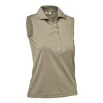 Daily Sports Mindy Sleeveless Polo - Potato