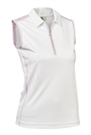 Daily Sports Memphis Sleeveless Polo - Rose
