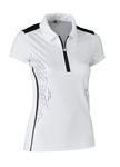 Daily Sports Memphis Black Cap Sleeve Polo