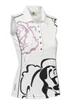 Daily Sports Whitney Sleeveless Golf Polo - Rose