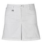 Daily Sports Blade Wind Golf Skort - White