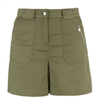 Daily Sports Devon Techno Cotton Skort - Khaki Green
