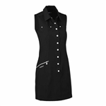 Daily Sports Marina Golf Dress - Black