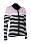 Daily Sports Cicely Cardigan - Rose/Black