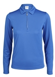 Daily Sports Macy Long Sleeve Royal Polo