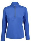Daily Sports Mayra Long Sleeve Royal Mock
