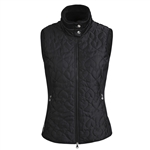 Daily Sports Harley Black Quilted Wind Vest