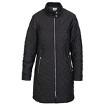 Daily Sports Harley Black Quilted Coat