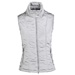 Daily Sports Skylar Quilted Silver Wind Vest
