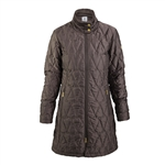 Daily Sports Tiffany Quilted Chocolate Coat