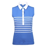 Daily Sports Gabrielle Royal Sleeveless Polo
